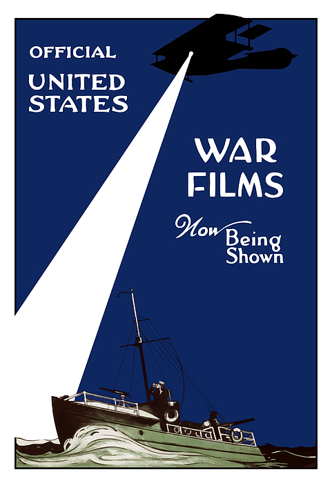 War Films Painting - United States War Films Now Being Shown by War Is Hell Store