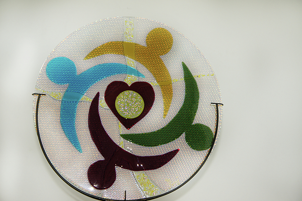 Glass Glass Art - Unity by Michelle Ferry