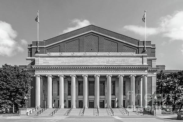 University Of Minnesota Photograph - University Of Minnesota Northrop Auditorium by University Icons