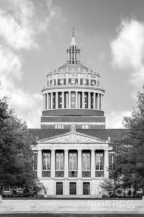 University Of Rochester Photograph - University Of Rochester Rush Rhees Library by University Icons