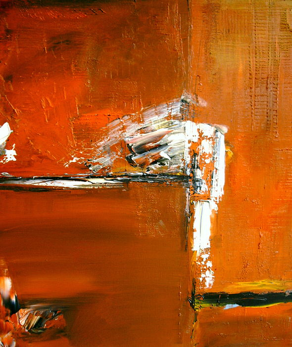 Abstract Painting - Unravelling The Chaotic Vision by Stefan Fiedorowicz