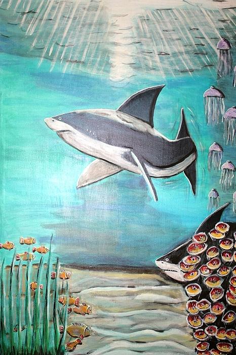Natur Painting - Unterwasserwelt by Mamu Art