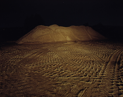 Landscape Photograph - Untitled - Series Night Sand by Markus Redert