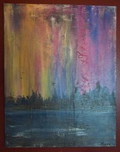 Modern Painting - Untitled 11 by Brandon Kasper