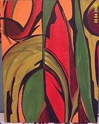 Modern Painting - Untitled 14 by Brandon Kasper
