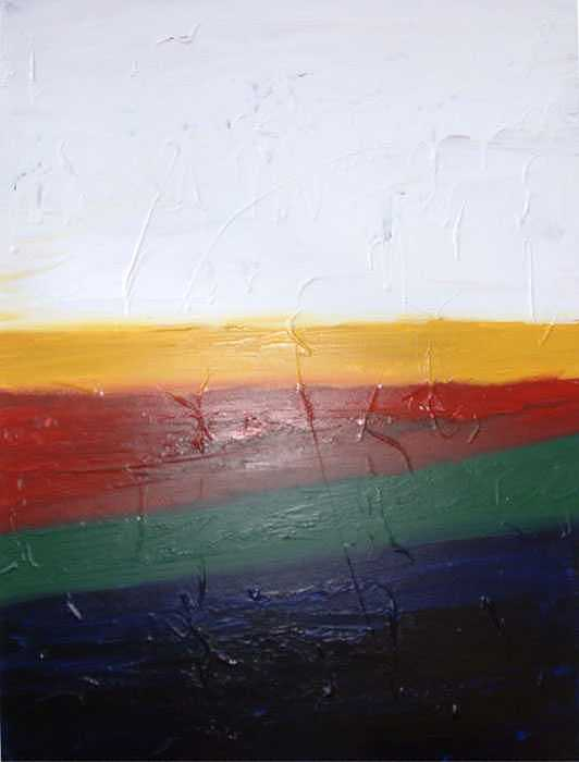 Untitled 4 Painting by Kenneth Vella
