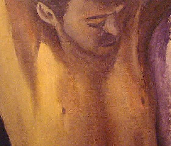 Portrait Painting - Untitled by Andrew Davies