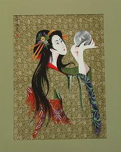 Silk Painting Painting - Untitled Asian 2 by Stan  Sternbach