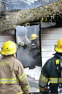 Firefighters Photograph - Untitled by Cindy Wozniak