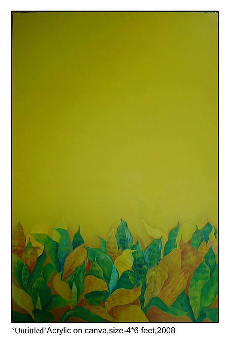 Conceptual Painting - Untittled by Manisha Dey