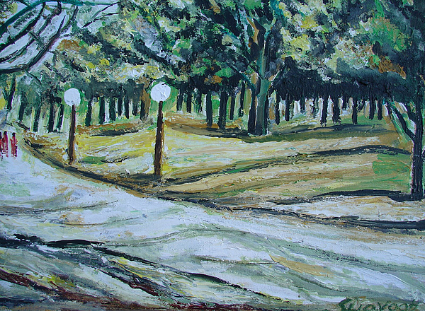 Portraits Painting - Us Landscpe-14 by Anand Swaroop Manchiraju