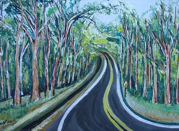 Portraits Painting - Us Landscpe-15 by Anand Swaroop Manchiraju