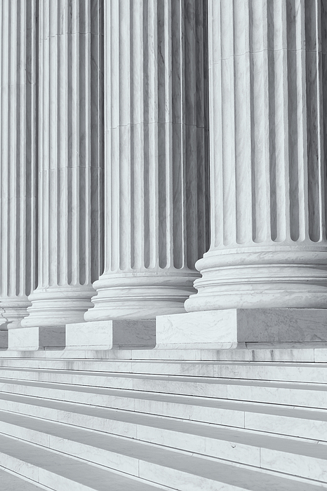 America Photograph - Us Supreme Court Building Iv by Clarence Holmes