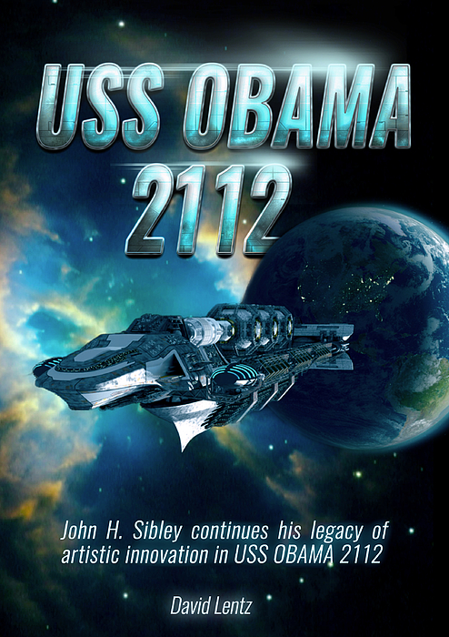 Poster Digital Art - Uss Obama 2112 by John Sibley