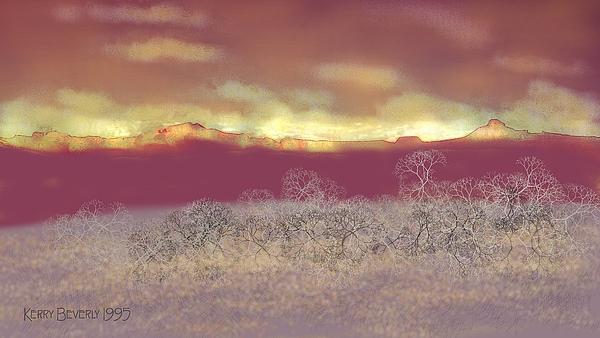 Utah Digital Art - Utah by Kerry Beverly