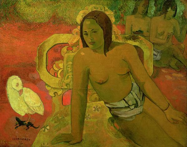 Vairumati Painting - Vairumati by Paul Gauguin
