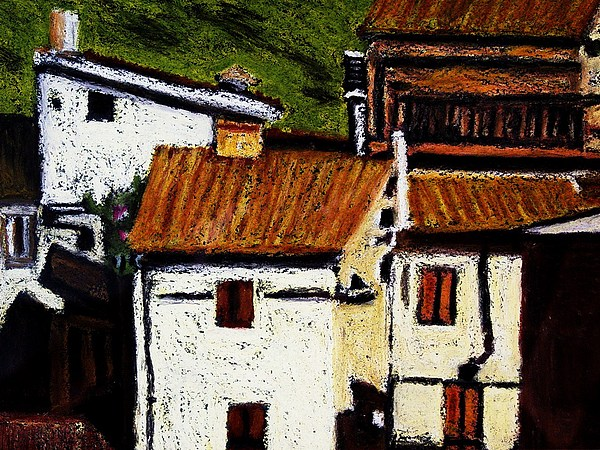 Italy Painting - Valles Di San Martino by Tom Herrin