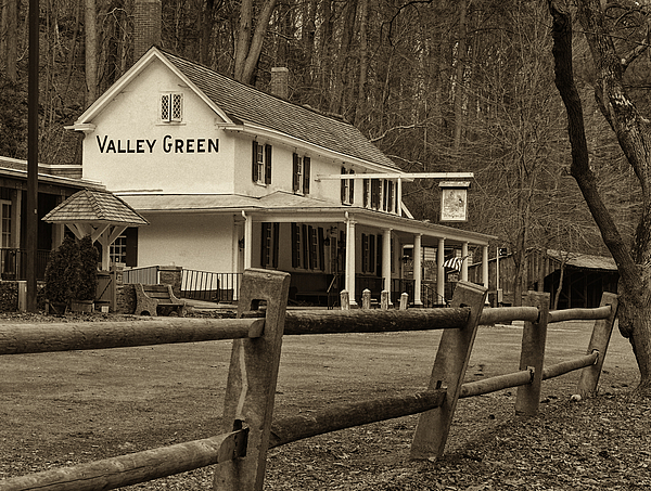Philadelphia Photograph - Valley Green by Jack Paolini