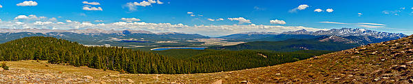14ers Photograph - Valley Of 14ers Panorama by Jeremy Rhoades