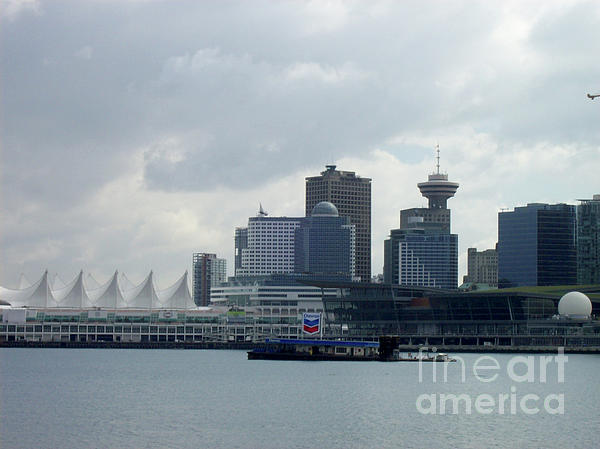 Vancouver Photograph - Vancouver Harbour by Mary Mikawoz