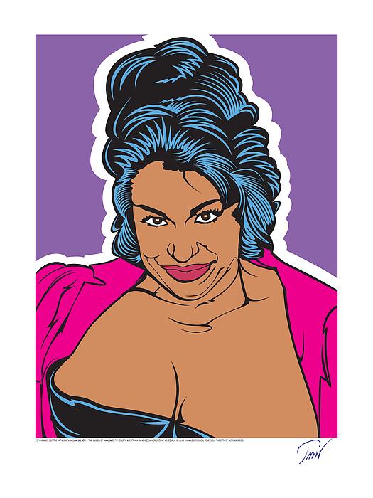 Vanessa Del Rio - Queen Of Harlem I Digital Art by Clas Thomas Svensson