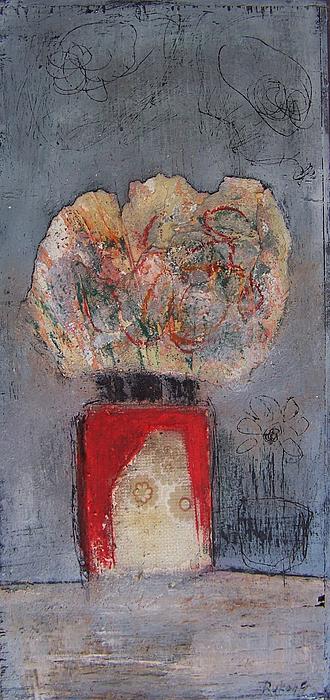 Vase Painting - Vase by Gabrijela  Rukelj