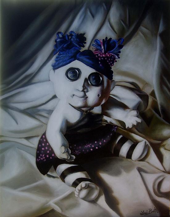 Tim Burton Painting - Vashler Baby Doll by Lori Keilwitz
