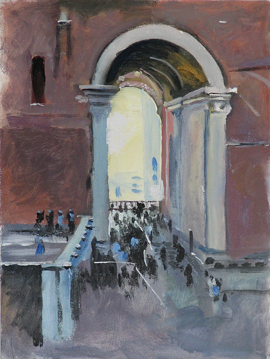Rome Painting - Vatican by Robert Bissett