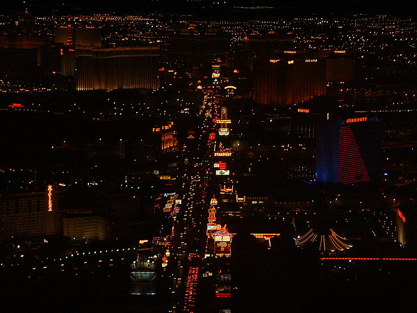 Nature Photograph - Vegas Strip by D R TeesT