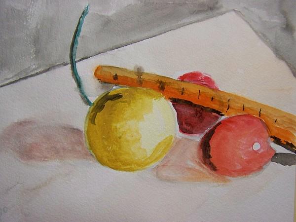 Still Life Painting - Veggies by Jimmy  Guan