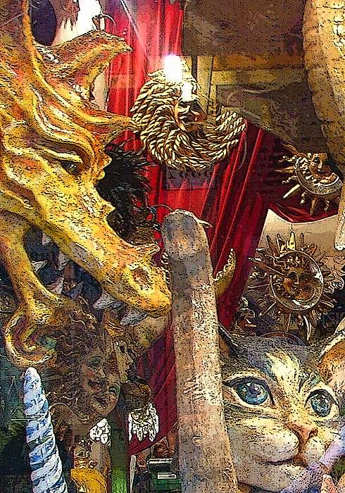 Venice Photograph - Venetian Animal Masks by Mindy Newman