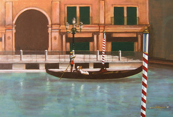 Smooth Sailing Painting - Venetian Number Two by Howard Stroman