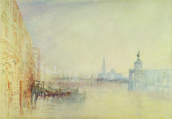Venice Painting - Venice - The Mouth Of The Grand Canal by Joseph Mallord William Turner