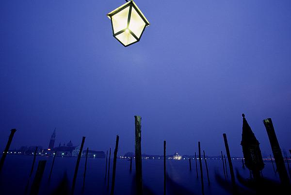 Blue Photograph - Venice by Brad Rickerby