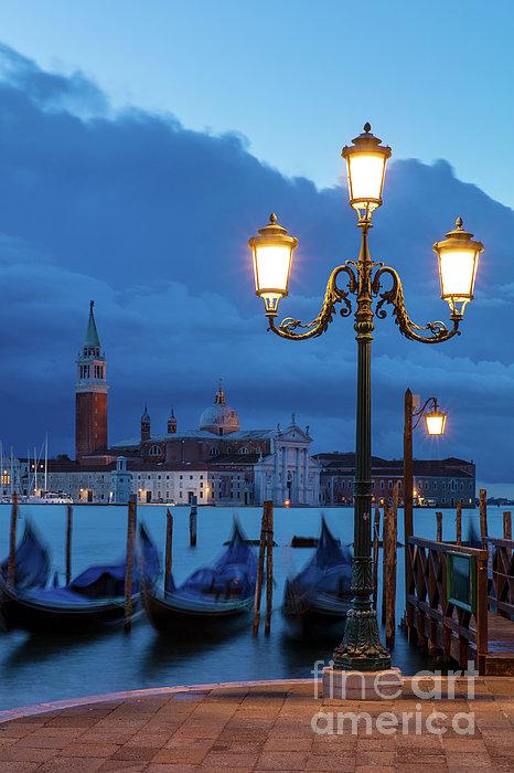 Attraction Photograph - Venice Dawn V by Brian Jannsen