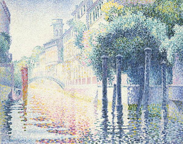 Venice Painting - Venice by Henri-Edmond Cross
