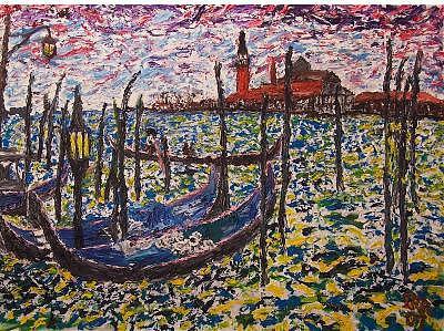 Venice Painting by Ira Stark