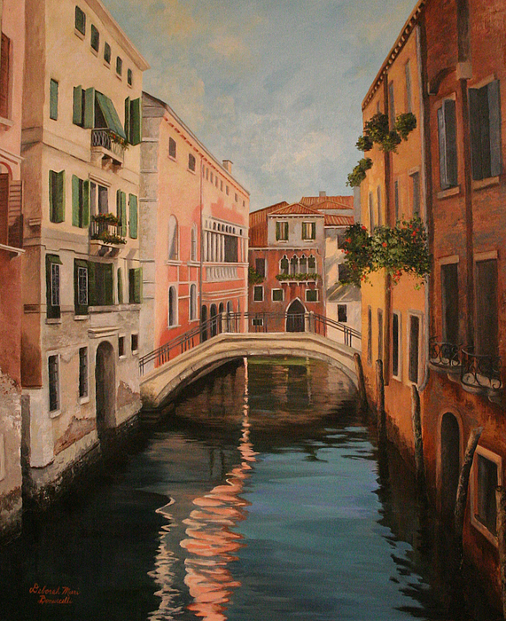 Italy Painting - Venice Morning by Deborah Bonuccelli