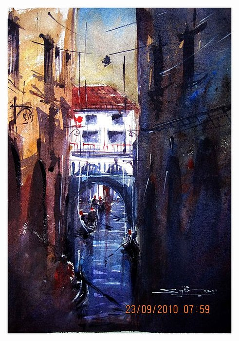 Venice Painting - Venice by Sijimon Siddique