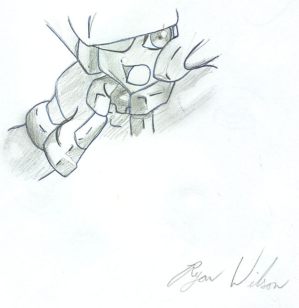 Pencil Sketch Drawing - Vent Zx by Ryan Wilson