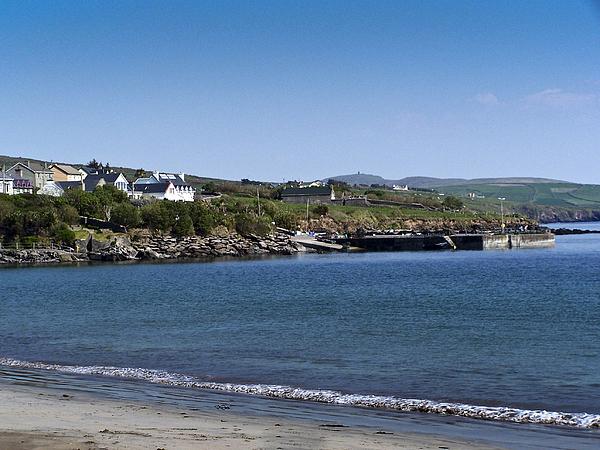 Irish Photograph - Ventry Beach And Harbor Ireland by Teresa Mucha