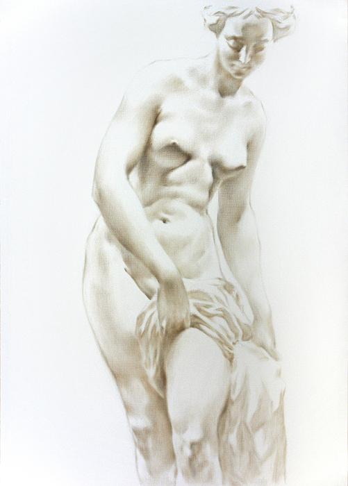 Woman Painting - Venus 1a by Valeriy Mavlo