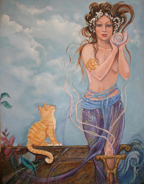 Venus Painting - Venus  by Catherine Moore