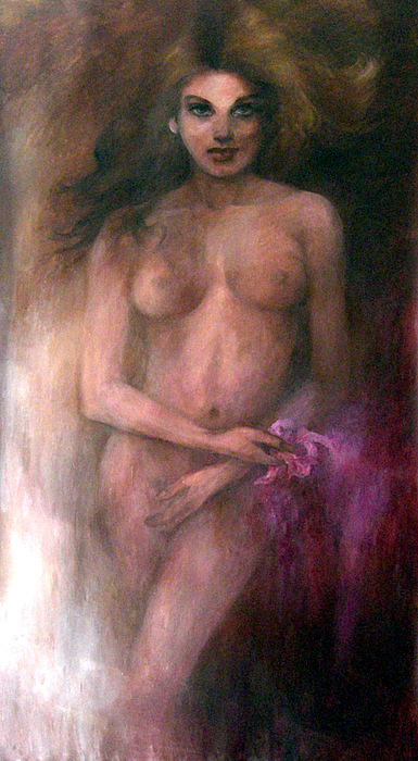 Portraits Painting - Venus by Elisabeth Nussy Denzler von Botha