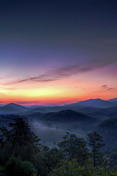 Mountains Photograph - Venus Over The Smokies by Zev Steinhardt