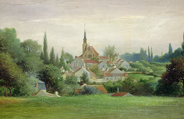 1880 Painting - Verriere Le Buisson by Eugene Bourrelier