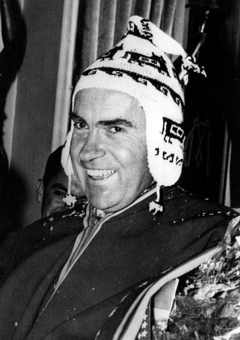 Vice President Richard Nixon 1913-1994 Photograph by Everett