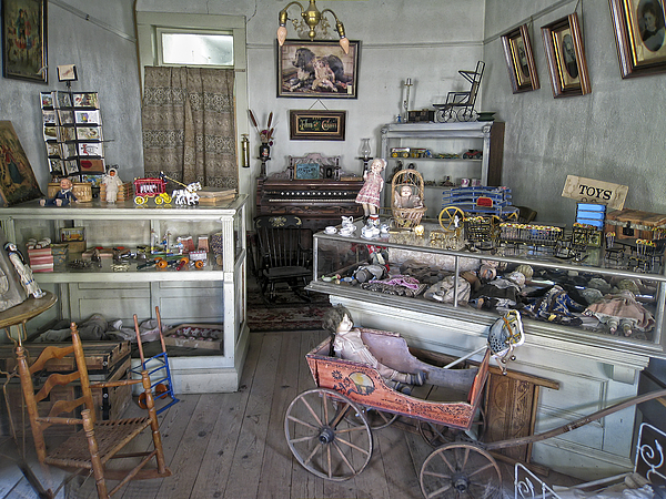 Victorian Photograph - Victorian Toy Shop - Virginia City Montana by Daniel Hagerman