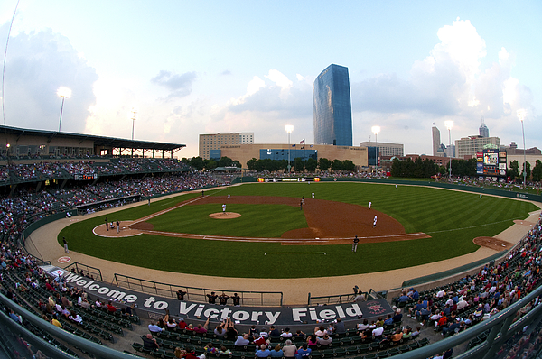 Victory Field Photograph - Victory Field by Rob Banayote