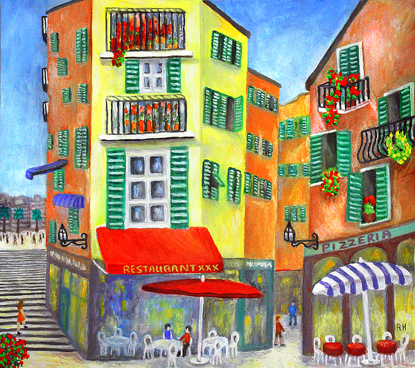 Vieille Ville Painting - Vieille Ville - Nice by Ronald Haber